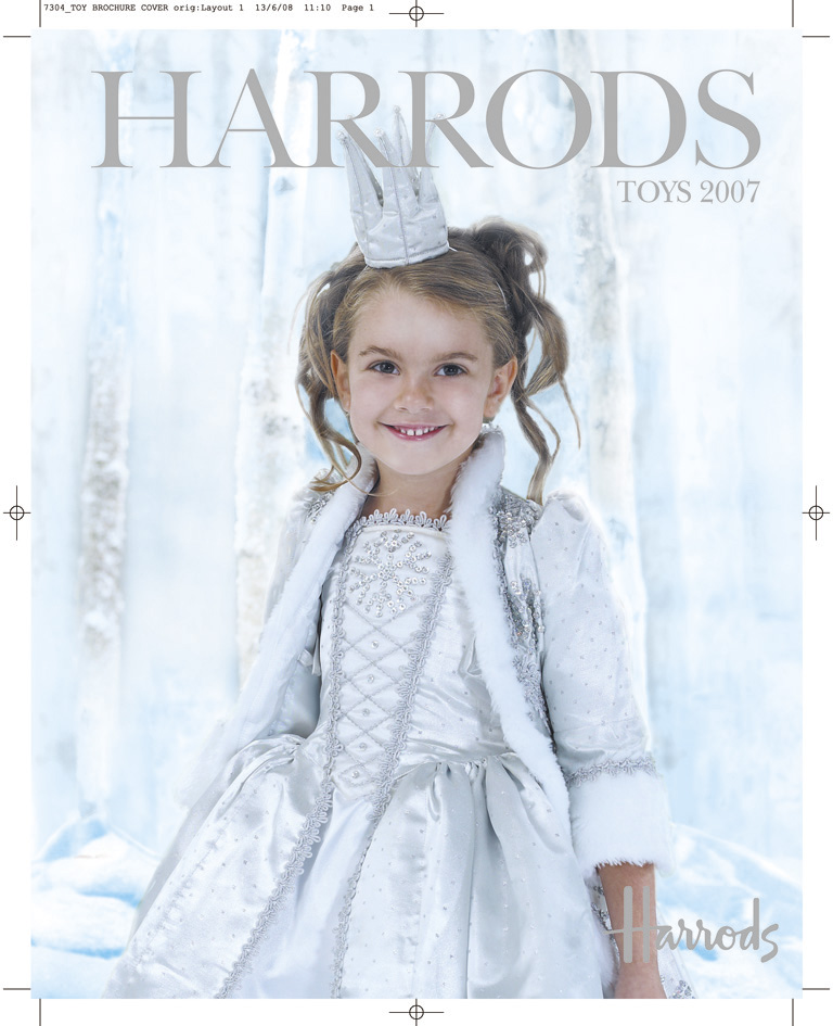 Harrods Toy Brochure Cover FINAL RETOUCHED