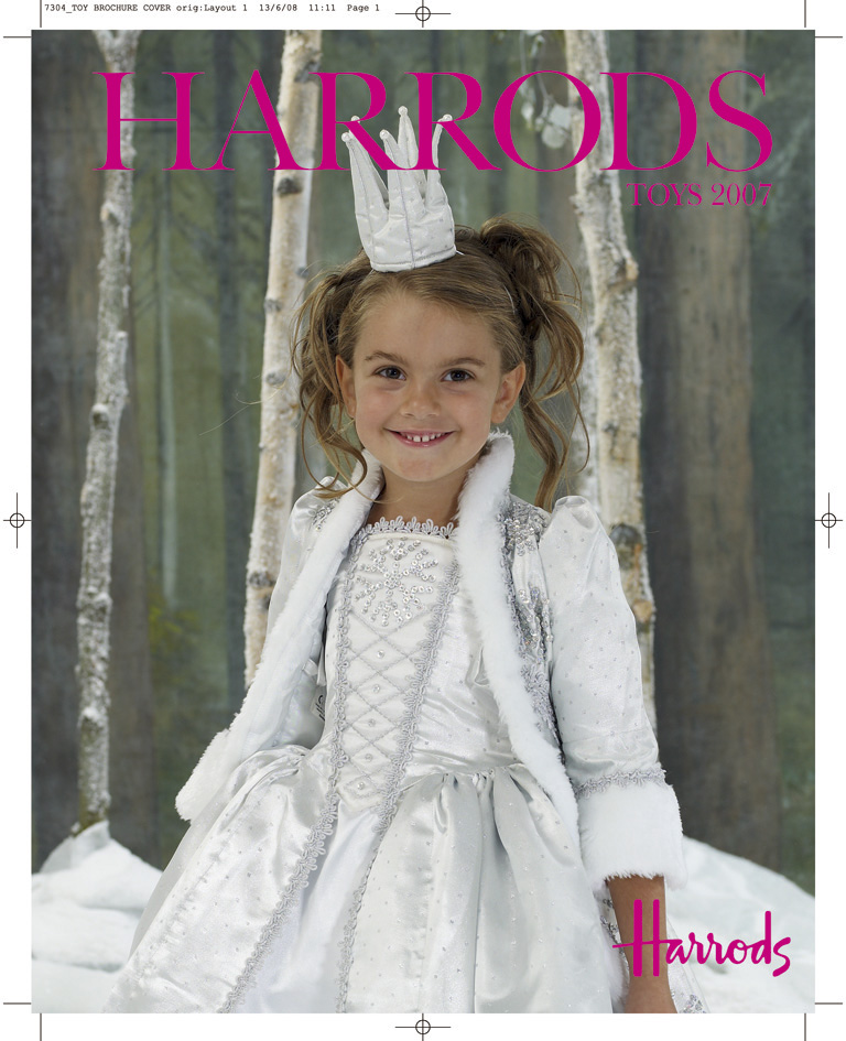 HARRODS Toy Brochure Cover ORIGINAL