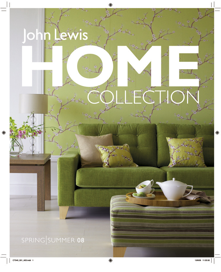 John Lewis Home Brochure Cover ORIGINAL