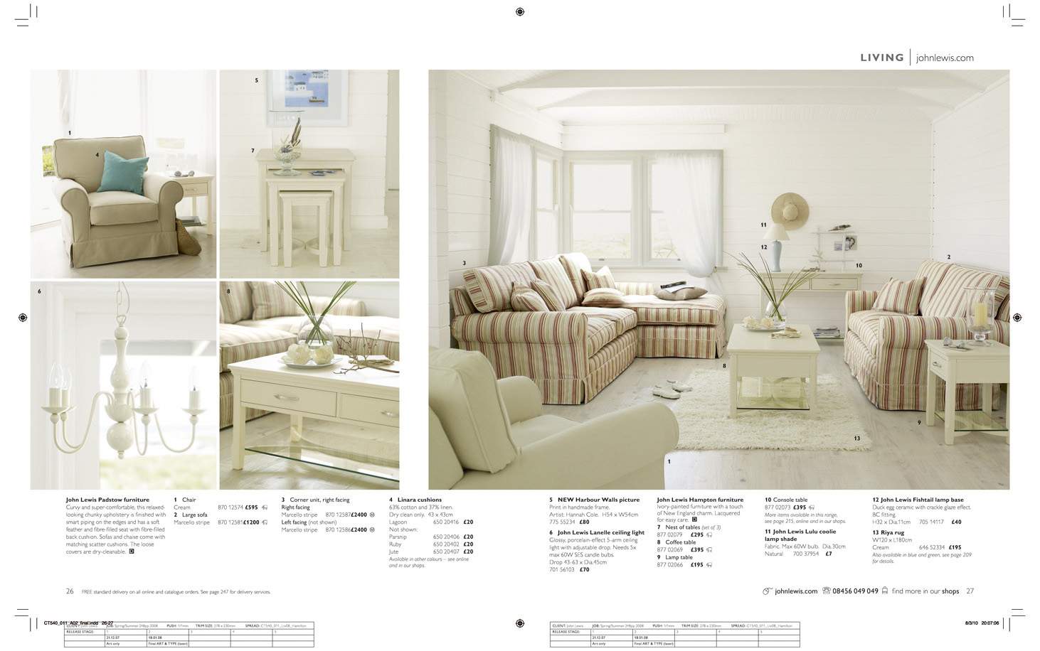 John Lewis Home Brochure Inner Spread FINAL RETOUCHED