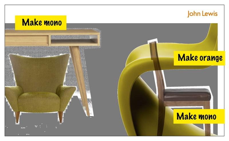 JOHN LEWIS Furniture Directory Cover ORIGINAL CONCEPT